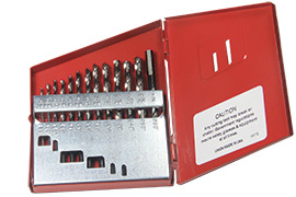Norseman 13pc CN-TECH NITRIDE-CRYO M7 Drill Bit Set 1//16-1//4 MADE IN USA CT-13