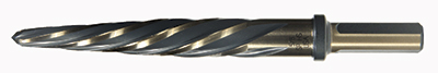 Type 51-AG HSS Car Reamer Fast Spiral Hole Buster™ 3-flats on Shank